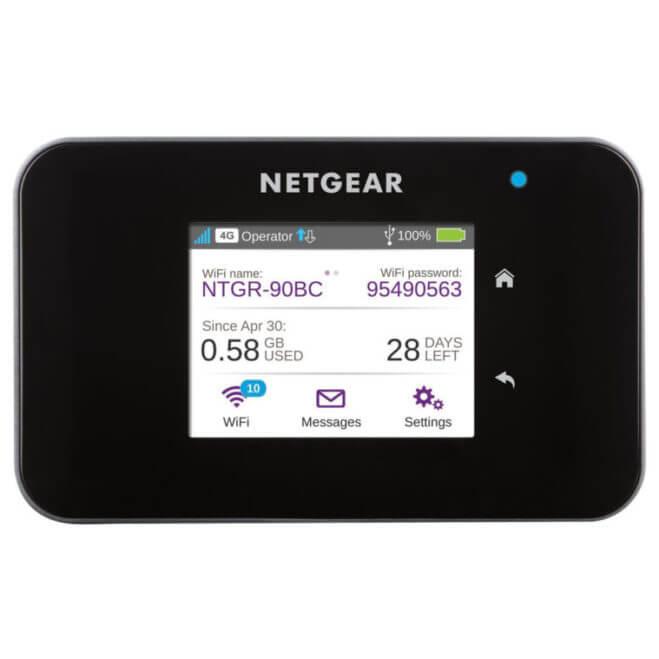 netgear AC810 router 4G portatil